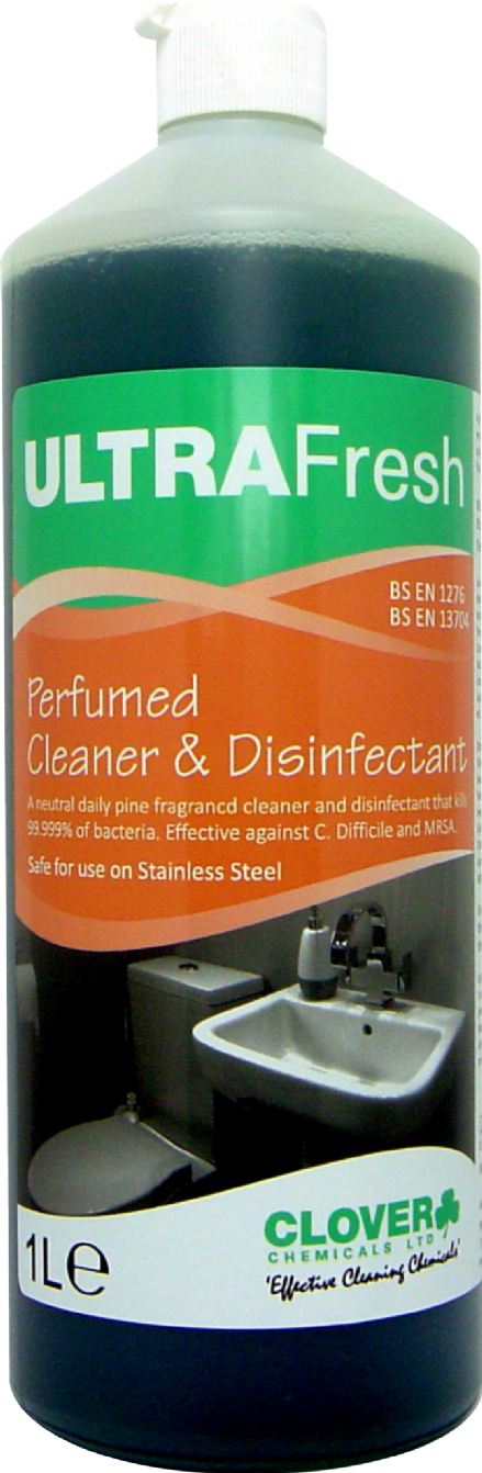 Clover Ultrafresh - Fragrant Cleaner and Disinfectant
